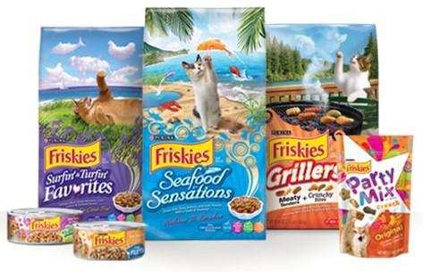 Harga Makanan Kucing Merk Friskies