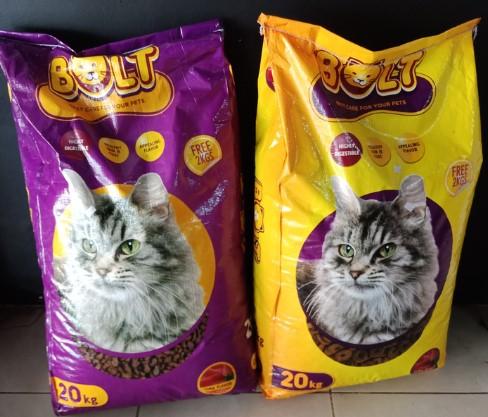 Harga Makanan Kucing Bolt
